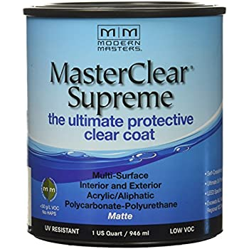 MODERN MASTERS MCS90132    Clear Coat Matte