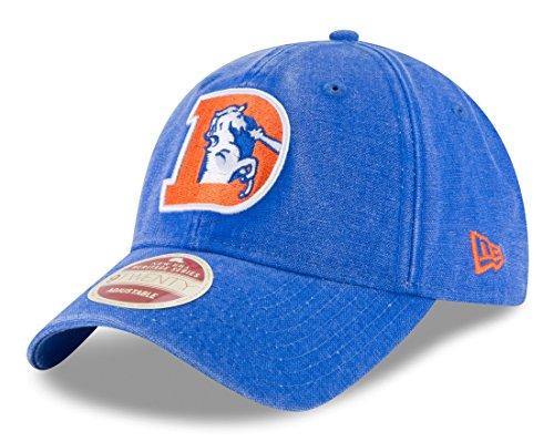 - New Era Denver Broncos NFL 9Twenty Historic Classic Wash Adjustable Hat