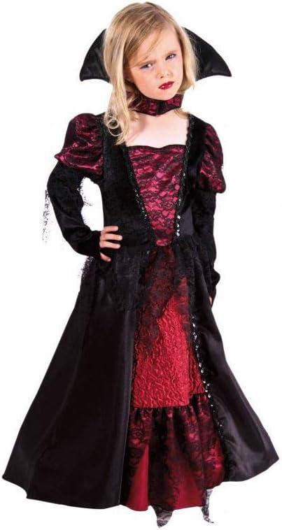 Disfraz vampiresa niña Super Luxe: Amazon.es: Juguetes y juegos