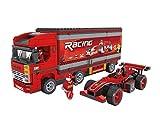 BRICK-LAND Racing Team Bricks Toy Set for Kids Teens Construction Toy Building Kits