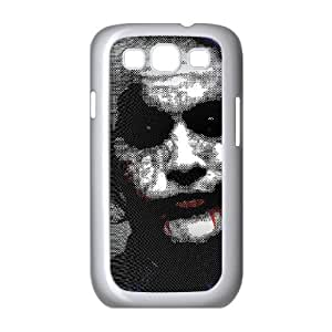 Personality customization TPU Case with The Joker Samsung Galaxy S3 9300 Cell Phone Case White