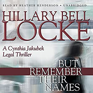 But Remember Their Names Audiobook