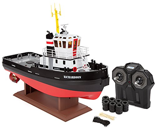 Hobby Engine Premium Label Richardson 1:36 2.4GHz RTR Electric RC Tug Boat (Colors May Vary)