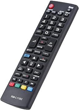 FOSA Mando a Distancia para LG, Control Remoto Unviersal, Control Remoto de Reemplazo para LG LCD TV: Amazon.es: Electrónica