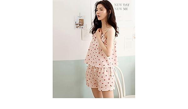 Pijamas de Verano Moda Sexy Honda Mujer Dormir Falda sección ...