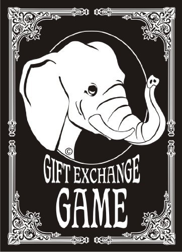 White Elephant Gift Exchange Card Game by White Elephant
