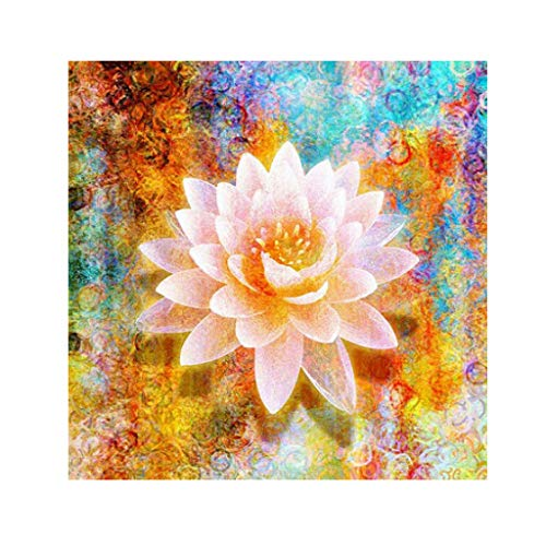 (Pengy Diamond Painting Kits for Adults, Full Drill Floral Rhinestone Embroidery Cross Stitch Pictures Arts Craft Home Wall Decor )
