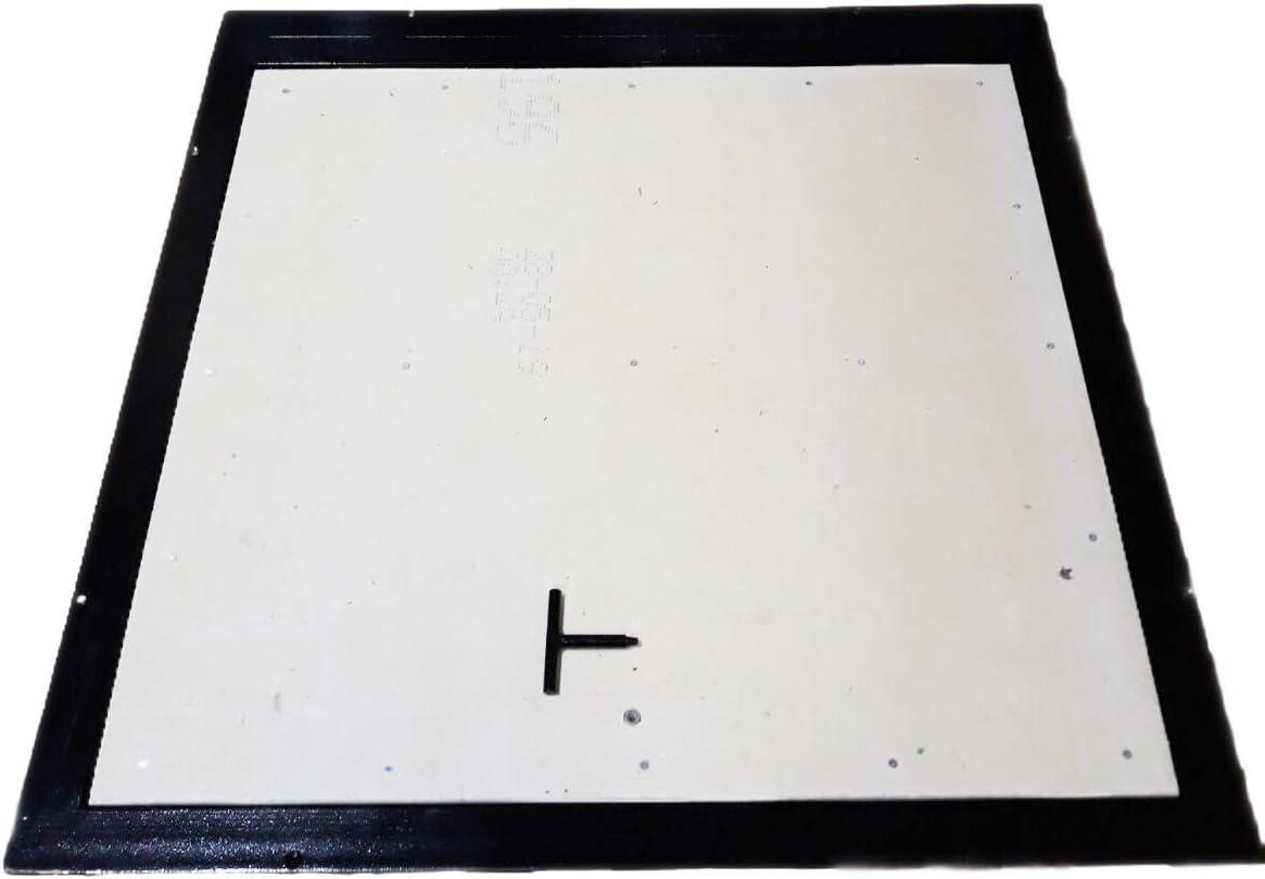 Schachtabdeckung 80cm x 100cm H Bodenluke Schachtdeckel Revisionsschacht Kanalschacht Bauluke