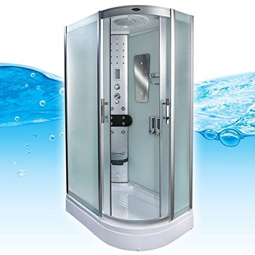 AcquaVapore DTP8060-7013R Dusche Dampfdusche Duschtempel Duschkabine -Th. 80x120