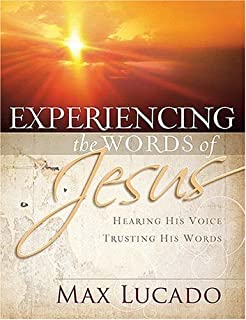 Come thirsty workbook receive what your soul longs for max experiencing the words of jesus hearing his voice trusting his words fandeluxe Document