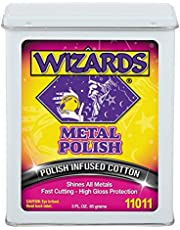 Wizards Products 11011 Metal Polish Treated Cotton, 3-Ounce