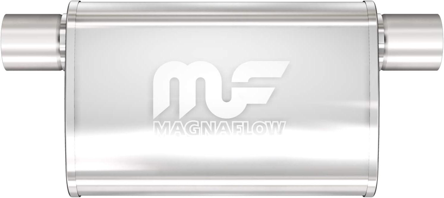 Magnaflow 12226 Satin Stainless Steel 2.5 Oval Muffler