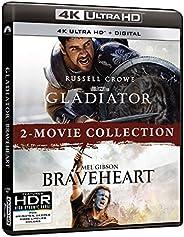 Gladiator/Braveheart 2-Movie Collection (4K Ultra HD + Digital)
