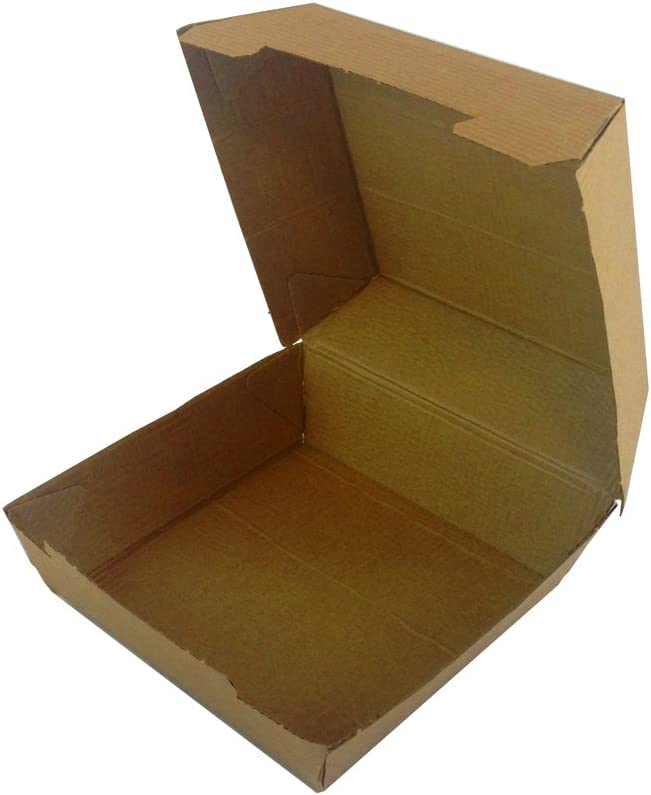 Todokraft 25 cajas de cartón kraft para Hamburguesa y otras utilidades: Amazon.es: Oficina y papelería