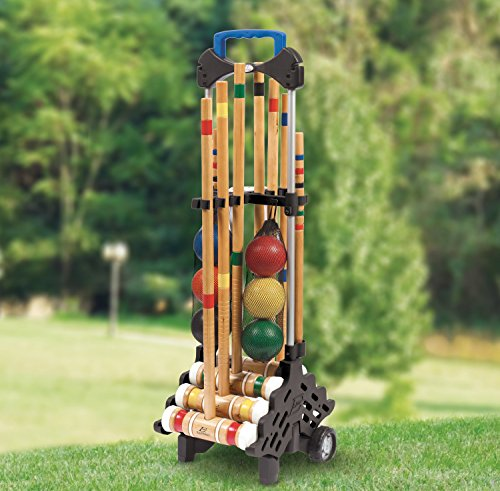 EastPoint Sports 6-Player Croquet Set with Caddy by EastPoint Sports (Image #4)
