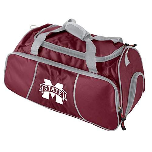 Gym Bulldogs Mississippi Bag State (Logo Brands NCAA Mississippi State Bulldogs Athletic Duffel Bag)