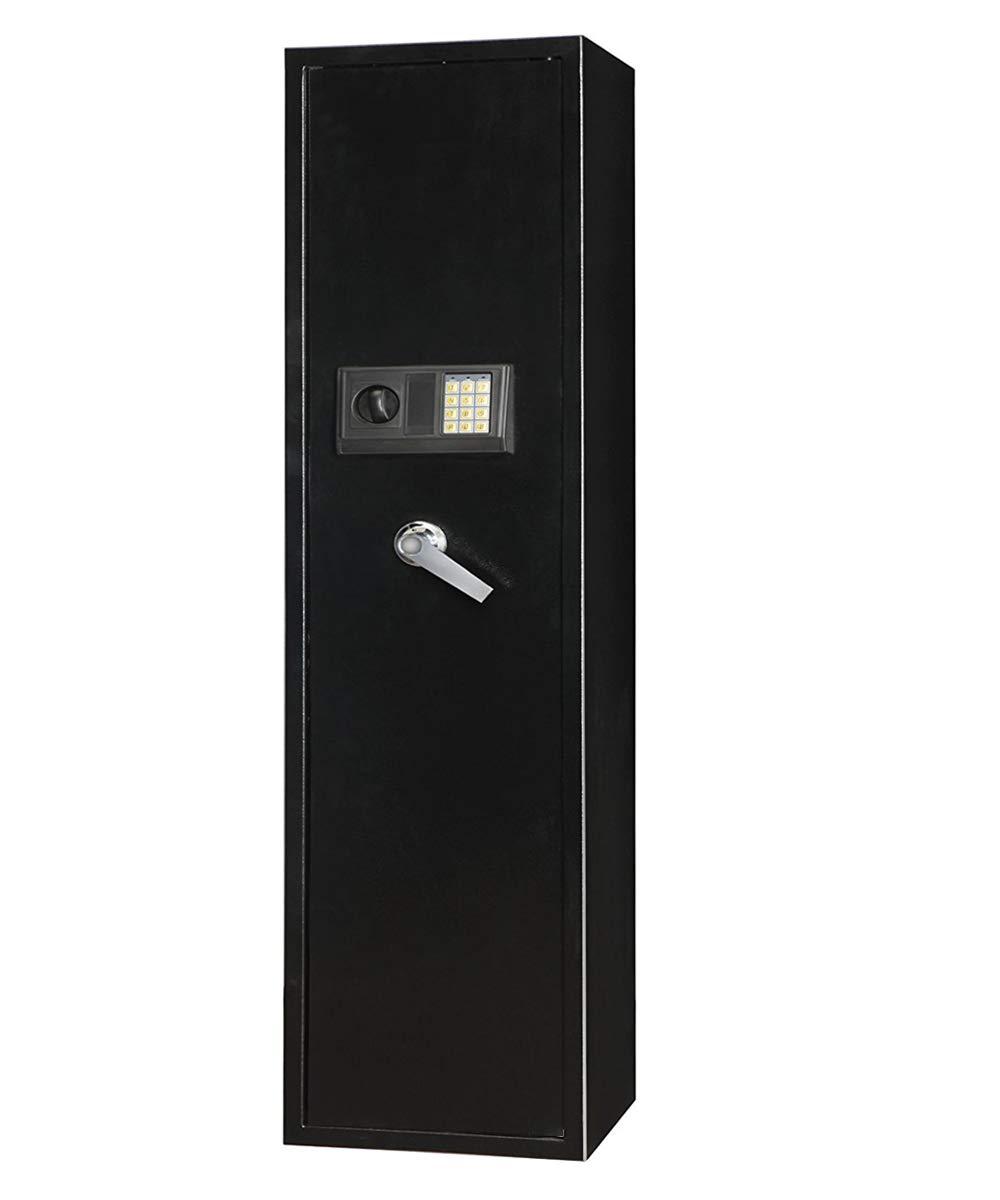 Gearmart Fast Access Rifle Safe Large and Durable for 5-Gun Shotgun Cabinet
