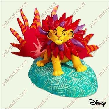Mighty Simba - The Lion King Disney - 2005 Hallmark Ornament QXD4222 ()