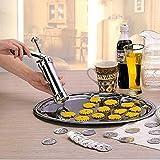 Tacoli- 1Set DIY Cookie Tool Biscuit Cookie Extruder Presser Machine Biscuit Maker Cake Making Decorating Gun Kitchen Baking Tools
