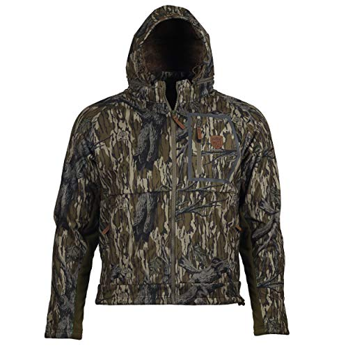 - Gamekeeper Mossy Oak Fleece Lined Waterproof Harvester Jacket (Treestand, X-Large)