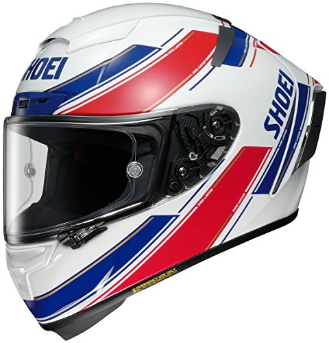 Shoei Lawson X-14 Street Racing Motorcycle Helmet - TC-1 / X-Large