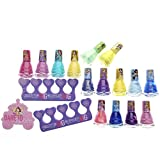 Townley Girl Disney Princess Non-Toxic Peel-Off