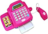 ACME TOY-Battery Operated Toy Cash Register Set + Scanner + Calculator for Kids Ages 3+ Years