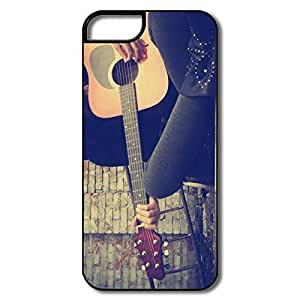 Custom Love Slim Case Playing Guitar Street IPhone 5/5s Case For Friend