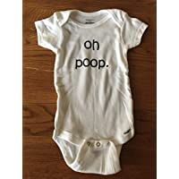 Oh Poop. onesie - New baby onesie - - Funny Onesie - Shower gift - baby clothes - baby gifts