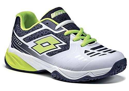 Lotto - Zapatillas de tenis para niño Weiß (WHT/YLW SAF)
