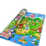 J&T Baby Play Mat Crawl Play Game Picnic Carpet Animal Letter Alphabet Farm Mat for Baby Kid Toddler