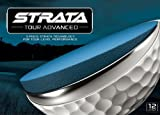 Strata Men's Tour Advanced Golf Balls-Pack of 12, White, Outdoor Stuffs
