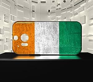 Funda Carcasa para HTC M8 Bandera CÔTE D ' IVOIRE 01
