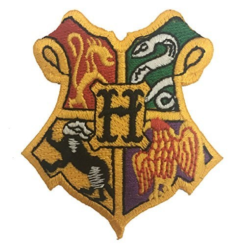 Harry Potter Houses Of Hogwarts Applique Embroidered Sew Iron On Patch -