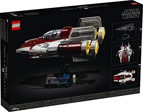 LEGO Star Wars A-Wing Starfighter 75275 Building Kit; Collectible Building Set for Adults; Makes a Cool Birthday for…