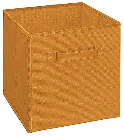 Perfect ClosetMaid 51533 Cubeicals Fabric Drawer, Fiesta Orange