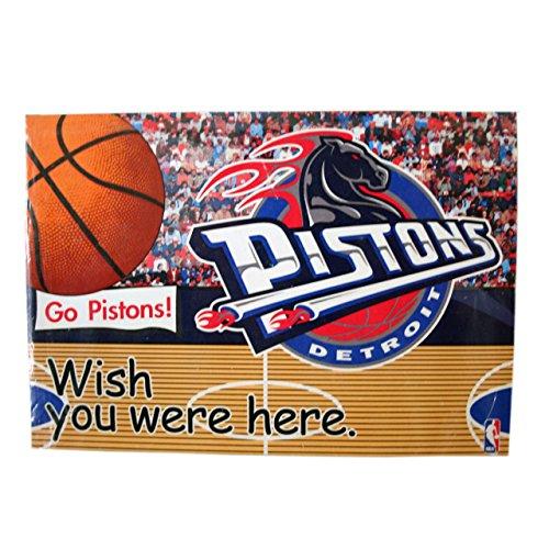 Rico NBA Detroit Pistons Postcard Magnet