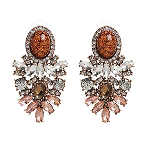 10 Colors New Arrival Wholesale Good Quality Big Crystal Earring 2019 New Statement Fashion Earrings For Women,orange (Best Music Ringtones 2019)