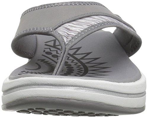 Skechers Upgrades Flip Women's Flop Grey wf7HwFq