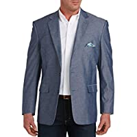 Roble Hill Big & Tall jacket-relaxer Textured Chambray Sport Coat