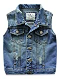 Little Boys Girls Spring Autumn Denim Vest Jacket