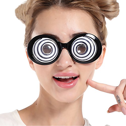 Price comparison product image D.O.T 1Pcs Eyeball Party Glasses Halloween Costume Fancy Dress Up Toys