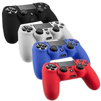Stillshine PS4 - Carcasa de silicona para Sony Playstation 4 ...