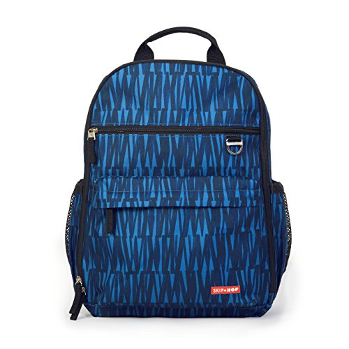 Skip Hop Duo Signature Carry All Travel Diaper Bag Backpack