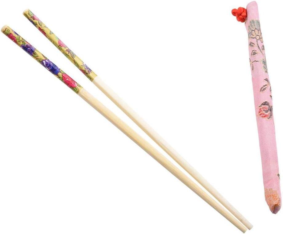 Palillos para el cabello de bambú estilo chino de Aeromdale con ...