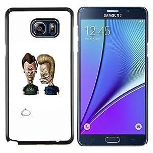 """Be-Star Único Patrón Plástico Duro Fundas Cover Cubre Hard Case Cover Para Samsung Galaxy Note5 / N920 ( Acdc Beavis y Butt"""" )"""