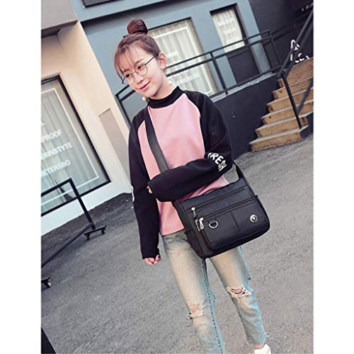 Bag Nylon Handbag Messenger Voyage Satchel Imperméable Crossbody À Épaule CHENGYI Noir Ladies l'eau Casual Sacs qRn1wgCW