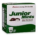 junior mints keurig - Junior Mint Hot Cocoa for Single Serve Coffee Makers, Keurig K-Cup Brewers, 18 Count – New Flavor!