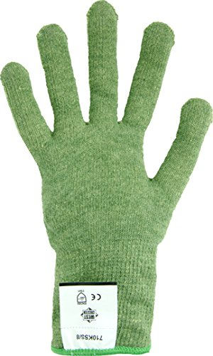 West Chester 710KSS High Performance Kevlar & Steel Level 5 Cut Resistant Glove, Size (Thermolite Nylon Gloves)
