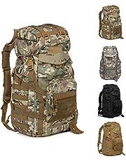 FR&RF 60L utomhus camping ryggsäck militär taktisk väska stor vattentät ryggsäckar kamouflage vandring